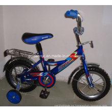 """Bicicleta de 12 """"con marco de acero para niños (BF1204)"""