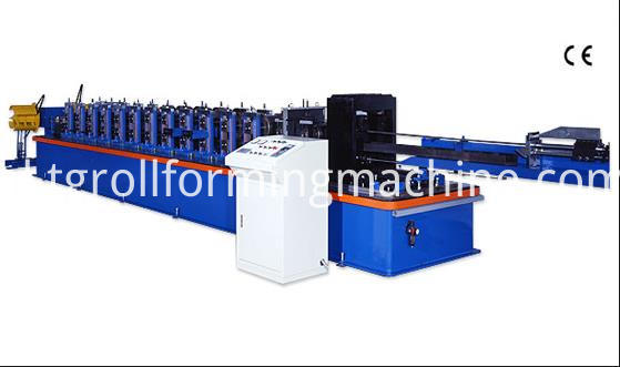 U Style Steel Profile Purlin Machine