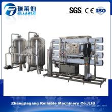 Máquina del tratamiento del agua potable del sistema del purificador de la ósmosis reversa
