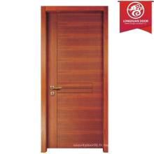 Porte arrière en bois sur mesure, portes en bois composite noyau creux