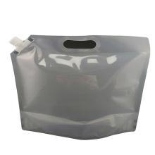 Bico plástico para embalagem de alimentos saco de vinho doypack com alça