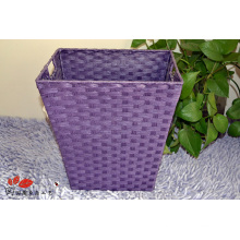 (BC-RB1016) Hot-Sell Promotional Pure Manual Paper Rope Basket