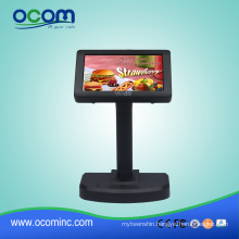 Height Adjustable Supermarket LED POS Customer Display