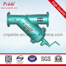 10 microm 4400gpm Système manuel de filtration d'eau à irrigation progressive Brushaway