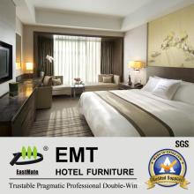 Mobiliário de estilo de exemplo popular de quarto de cama (EMT-HTB06-2)