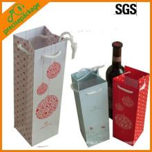 barato 1 embalagem de sacos de vinho de papel de garrafa