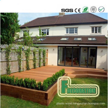 High Quality Wood PVC Composite Decking