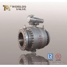 Válvula de esfera de alto desempenho em aço carbono