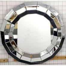 3D round shape Hanging Mirror MDF mirror