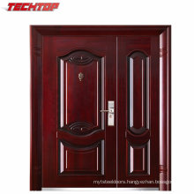 TPS-058sm Exterior Security Main Commercial Steel Doors Designs