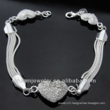 Female Cheap 925 Silver Jewelry Bracelet Sterling Silver Bracelet BSS-010
