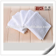 100% Cotton 16S Excellent Water Absorbent Wholesale White Hand Towels