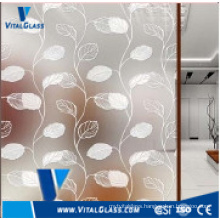 4mm, 5mm, 6mm Stained Decorative Paint Coated Art Glass