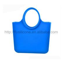 2015 Fabrik-Preis-haltbare wasserdichte Strand-Silikon-Handtasche