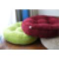 big size soft corduroy round seat cushion, floor cushion
