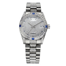 Full Stone Luxury Wrist Watch for Men and Woman