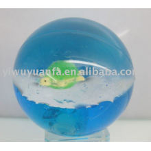 100mm Flash Glitter Led Bouncing Crystal Ball