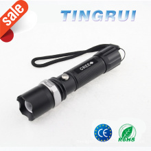 Light Flash Zoom Power Style Led Flashlight