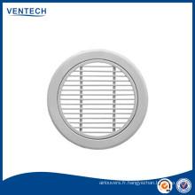 rond aluminium grille linéaire pour la ventilation
