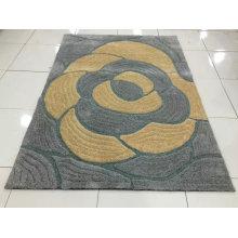 3D Boden Polyester Shaggy Teppich mit modernem Design