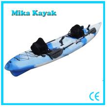 Canoa de plástico doble pesca Kayak venta