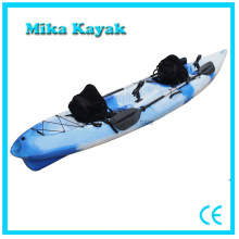Plastic Canoe Double Fishing Kayak Sale