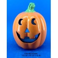 Halloween Decorative Ceramic Pumpkin Tealight Candle Holder