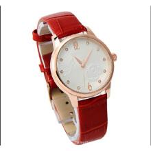 2015 Leder Mode Armband Damenuhr