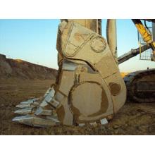 Seau à palettes à vis pour Excavatrice Hitachi (EX870, EX1200, EX2500, EX3600)