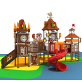 Reliable Supplier Outdoor Playground Equipment, Children Multifunctional Amusement Park Play