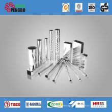 201/304 Grade Stainless Steel Welded Tube for Decoration