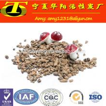 Fornecedor de produtos de filtro de ceramsite cinza-branco da China