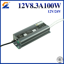 12V 100W AC DC Waterproof Power Supply