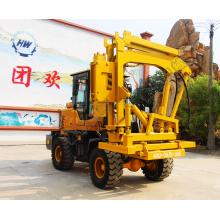 Highway Guardrail Post Hammer Pile Driver Machine