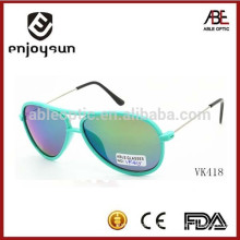 high quality double bridge kids sunglasses with CE & FDA