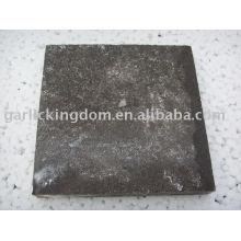Antike Pflasterstein-Salzsäure behandelt