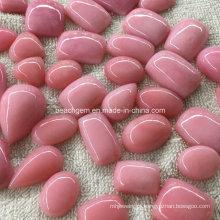 Opala rosa Gemstone Joias configuração