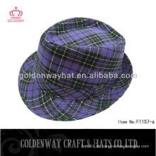 Klassischer formaler Hut Unisex Fedora Hut
