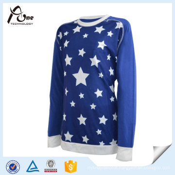100%Polyester Quick-Drying Girl′s Sports Tops