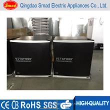 Congelador portátil do gelado do congelador ereto compacto mini com UL / ETL