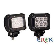 "12V 24V DC 18 W Double Row LED Light Bar 4"" , Cree Industri"