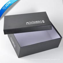 Boîte faite sur commande de chaussure de carton d'impression de bonne qualité