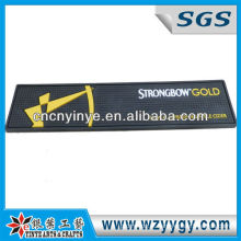 Strongbow distintivo ouro Pvc Bar Mat para Promo