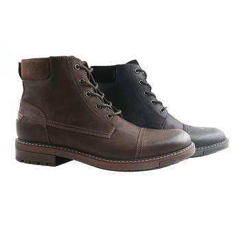 Martin botas sapatos masculinos de couro