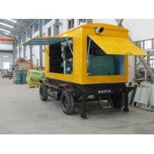 400kVA diesel mobile trailer generator