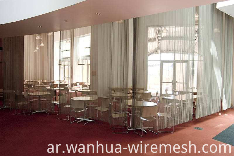 Popular flexible metal mesh curtain (1)