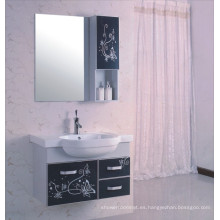 Gabinete de baño de PVC de 80 cm (B-522)