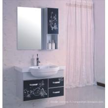 Cabinet de salle de bains de PVC de 80cm (B-522)