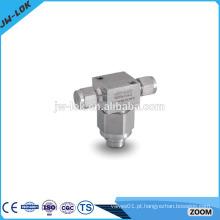 Filtro hidráulico unidirecional de alta pressão tipo T