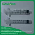 Jeringa estéril desechable con 3 partes (1 ml-100 ml)